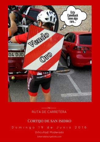 Cortijo de san isidro rojo cartel