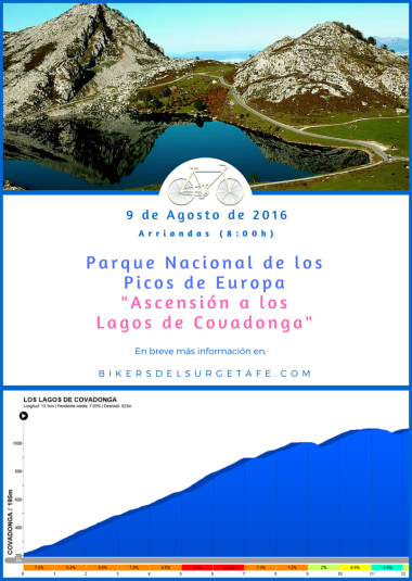 Lagos de Covadonga con bici(1)