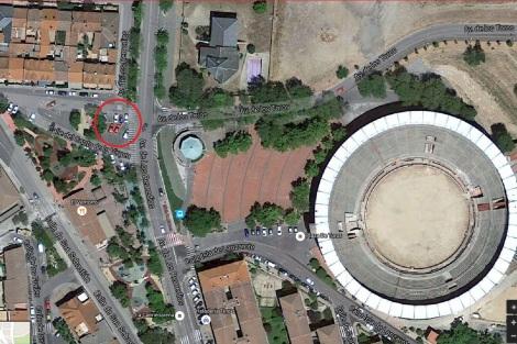 Parking Avd de los Remedios (al lado de la plaza de toros)