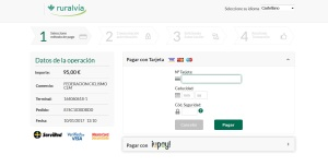 Plataforma de pago